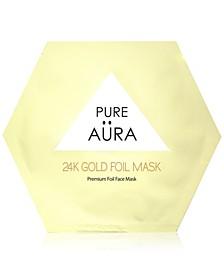 24K Gold Foil Mask