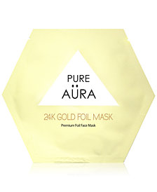 Pure Aura 24K Gold Foil Mask