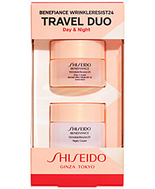 Shiseido 2-Pc. Benefiance WrinkleResist24 Travel Set