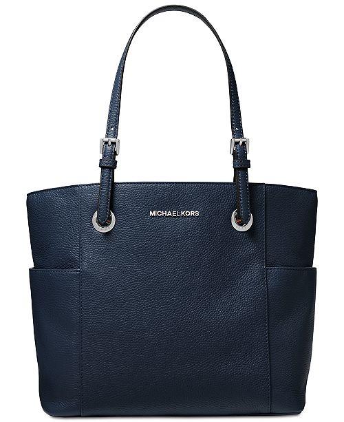 2a76de4fab6f Michael Kors Jet Set Travel East West Pebble Leather Tote. Macy's / Handbags  & Accessories