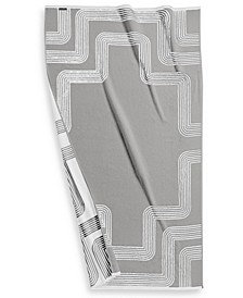 """CLOSEOUT! Borderline Turkish Cotton 40"""" x 70"""" Resort Towel, Created for Macy's"""