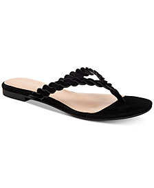 BCBGeneration Gabriela Braided Flat Sandals