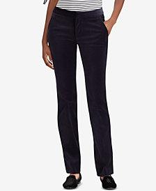 Lauren Ralph Lauren Velvet Straight Pants