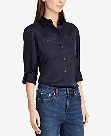 Lauren Ralph Lauren Sateen Shirt