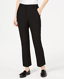 Weekend Max Mara Straight-Leg Ankle Pants