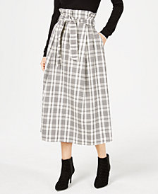 Weekend Max Mara Gommoso Plaid Skirt