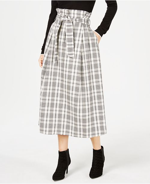 661c01e8d Weekend Max Mara Gommoso Plaid Skirt & Reviews - Skirts - Women - Macy's