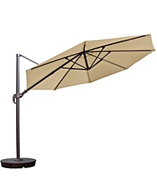 Freeport 11-Ft Octagonal Cantilever Patio Umbrella Sunbrella Acrylic