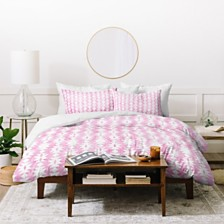 Deny Designs Holli Zollinger Tribal Pink Twin Duvet Set