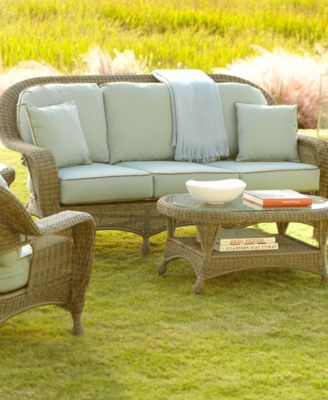 Sandy Cove Outdoor Seating Collection Created For Macy S