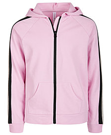 Ideology Big Girls Colorblocked Zip-Up Hoodie, Created for Macy's