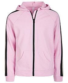 Ideology Big Girls Plus Colorblocked Zip-Up Hoodie, Created for Macy's
