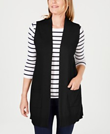 Karen Scott Sweater Vest, Created for Macy's