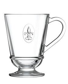 La Rochere Fleur De Lys 9-ounce Coffee Cups, Set of 6