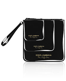 Receive a Complimentary Pouch with any spray purchase from the DOLCE&GABBANA The Only One fragrance collection