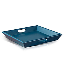 Navy Blue Serving Tray