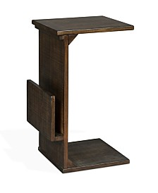 Manor House Tobacco Leaf Chairside Table