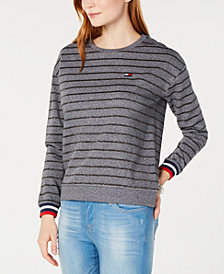 Tommy Hilfiger Sport Striped Sweatshirt