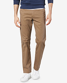 Dockers Men's Original Slim-Fit Performance Stretch Temperature-Regulating Khaki Tech Pants