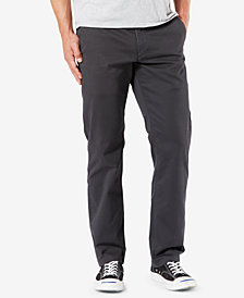 Dockers Men's Original Straight-Fit Performance Stretch Temperature-Regulating Khaki Tech Pants