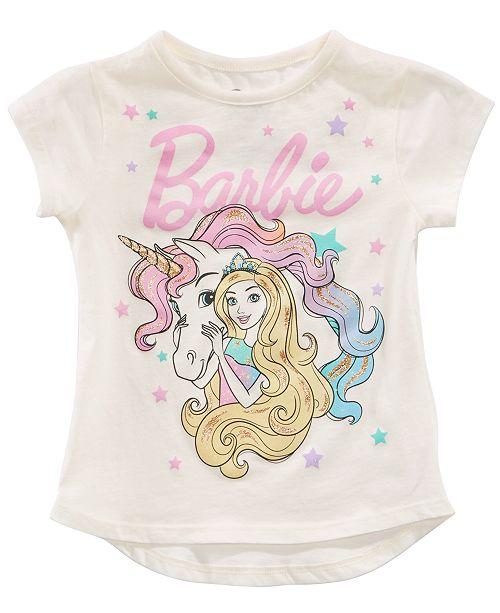 49f1e892 Barbie Toddler Girls Unicorn T-Shirt & Reviews - Shirts & Tees ...