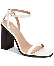 BCBGeneration Ivory Two-Piece Sandals