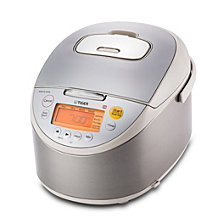 Tiger Induction Heating 10 Cup Rice Cooker & Warmer