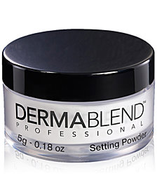 Dermablend Loose Setting Powder, 0.18 oz. (Travel Size)