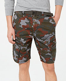 "American Rag Men's Camo 10"" Cargo Shorts, Created for Macy's"