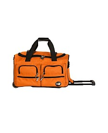 "Rockland 22"" Rolling Duffle Bag"