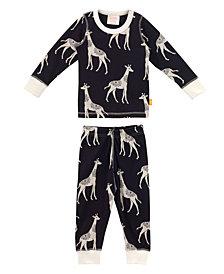Organic Baby Pjs Long Sleeve Elephant