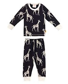 Masala Baby Organic Cotton Baby Pajamas Long Sleeve, Unisex