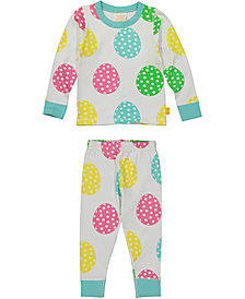 Masala Baby Organic Cotton Baby Pajamas Long Sleeve, Unisex