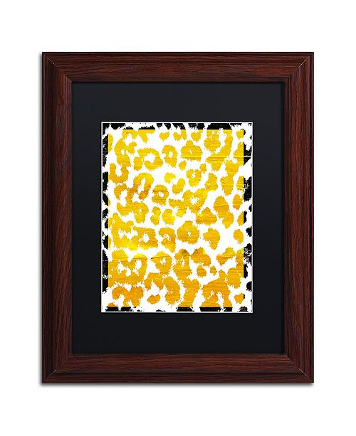 """Trademark Global Color Bakery 'Wild Thing' Matted Framed Art, 11"""" x 14"""""""