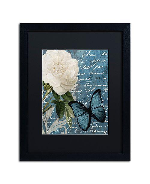 "Trademark Global Color Bakery 'Anastasia' Matted Framed Art, 16"" x 20"""