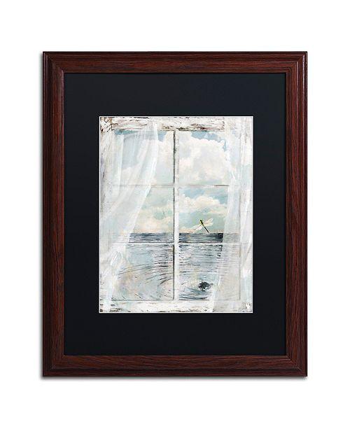 "Trademark Global Color Bakery 'Summer Me Iii' Matted Framed Art, 16"" x 20"""