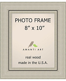 Amanti Art Romano Silver 14X18 Matted To 11X14 Opening Wall Picture Photo Frame