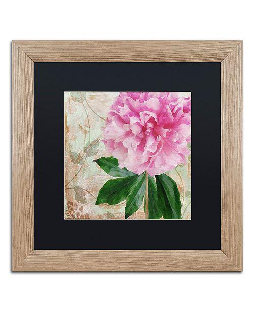 "Trademark Global Color Bakery 'Sonata Ii' Matted Framed Art, 16"" x 16"""