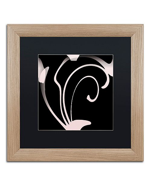 "Trademark Global Color Bakery 'Daring Deco Iii' Matted Framed Art, 16"" x 16"""