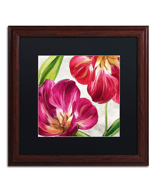 """Trademark Global Color Bakery 'Open Arms I' Matted Framed Art, 16"""" x 16"""""""