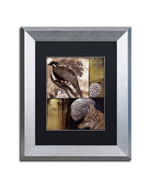 "Trademark Global Color Bakery 'On The Hunt Iii' Matted Framed Art, 11"" x 14"""