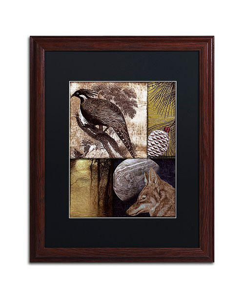 "Trademark Global Color Bakery 'On The Hunt Iii' Matted Framed Art, 16"" x 20"""
