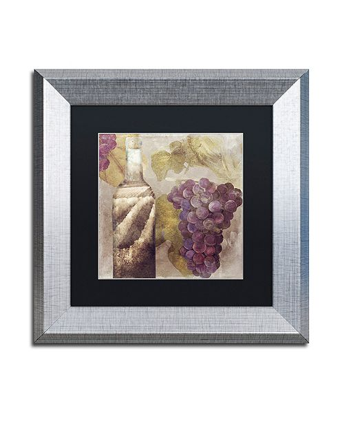 "Trademark Global Color Bakery 'Tuscany Dreams Ii' Matted Framed Art, 11"" x 11"""