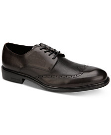Kenneth Cole Men's Garner Wingtip Leather Oxfords