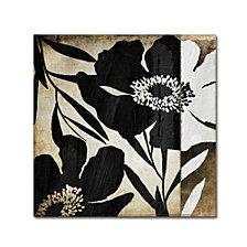 Color Bakery 'Floral Jungle Lines Ii' Canvas Art