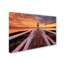 Michael Blanchette Photography 'Runway To The Sky' Canvas Art