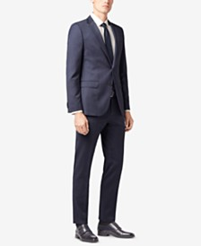 BOSS Men's Slim-Fit Stretch Travel Suit