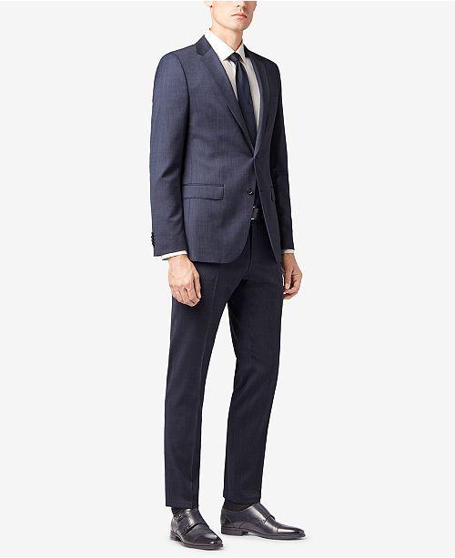 Hugo Boss BOSS Men's Slim-Fit Stretch Travel Suit