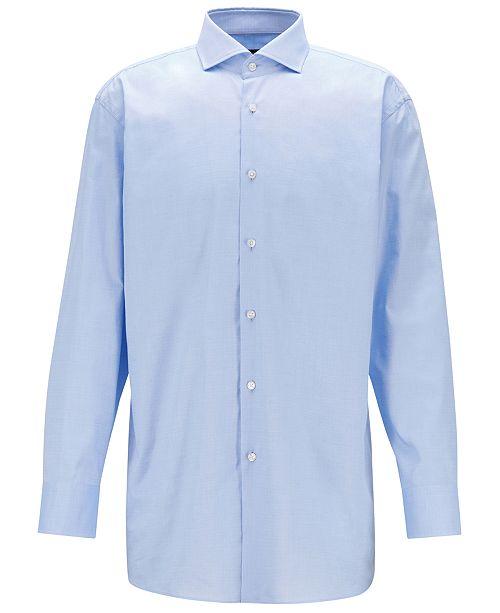 Hugo Boss BOSS Men's Slim-Fit Cotton Shirt