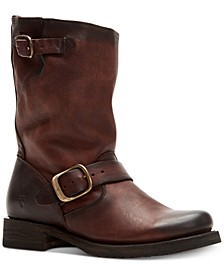 Women's Veronica Short Leather Boots